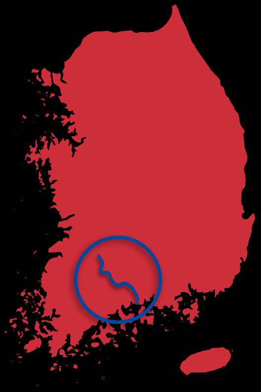 Seomjingang Map